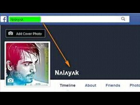 Download How To Recover The Old Name Verified Facebook Id Video 3GP