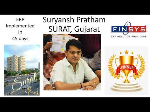 Suryansh (Surat) Finsys ERP for Box Packaging
