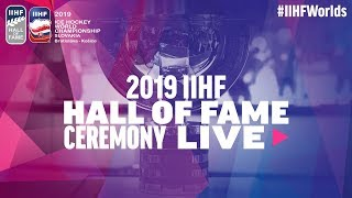 2019 IIHF Hall of Fame Ceremony