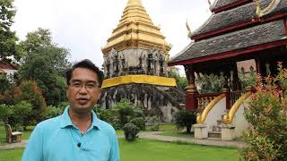 Wat Chiang Man Chiang Mai Thailand Travel with Tour guide after covid 19