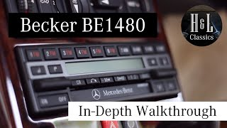 Becker BE1480 Overview and In-Depth Walkthrough