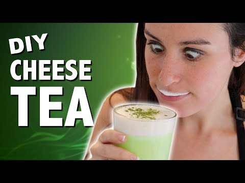 DIY CHEESE TEA - Feat. Mom