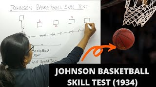 JOHNSON BASKETBALL TEST (1934) || SKILL TEST || UGC-NET||