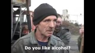 Thug Life: Drunk russian coal miner (GTA SA THEME)