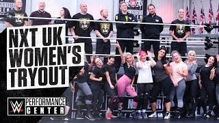 Inside Look At The NXT UK Women's Tryout