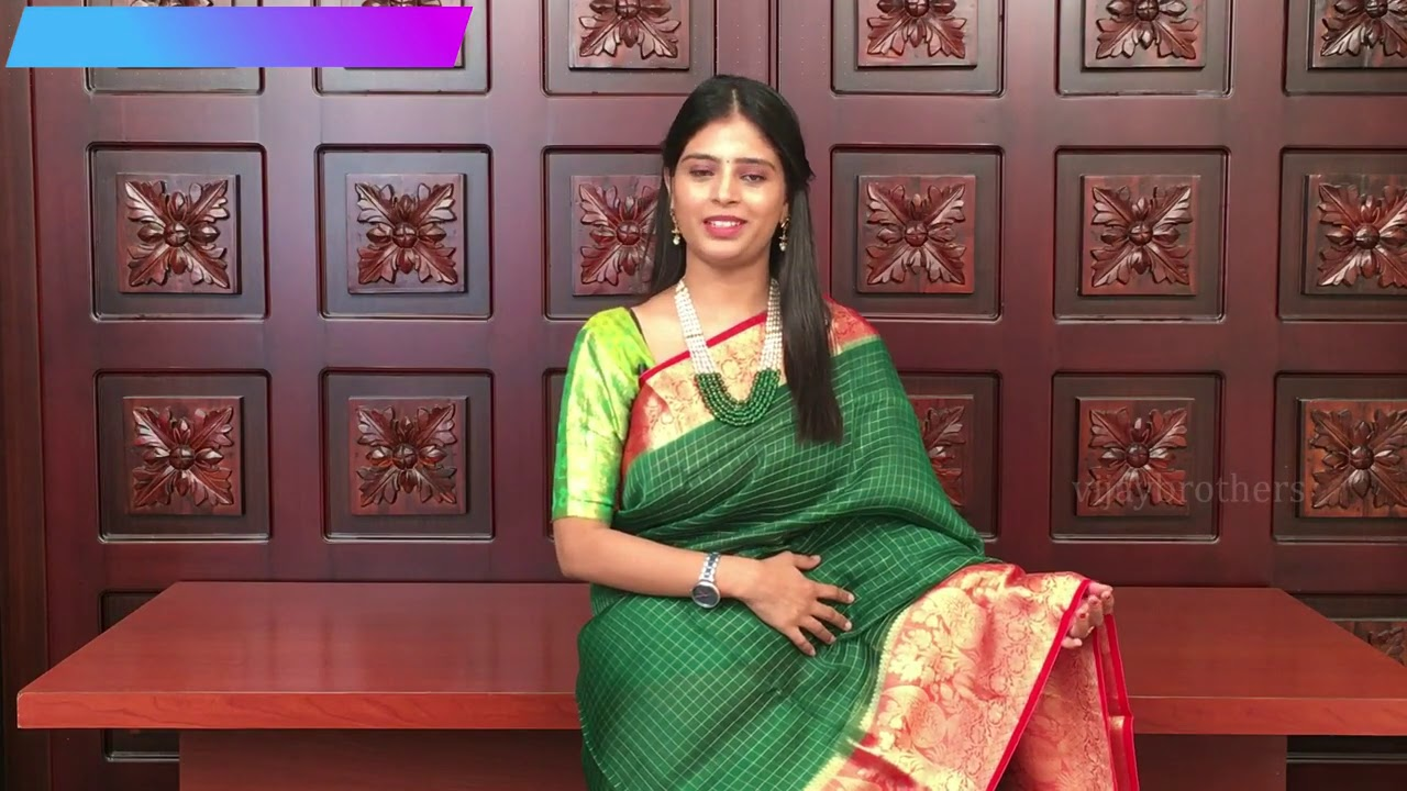 """<p style=""""color: red"""">Video : </p>Dussehra special Pure Organza 
