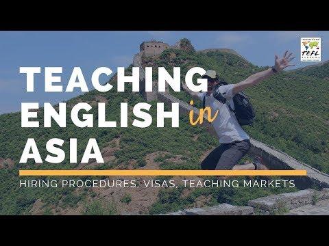 Teaching English in Asia - TEFL Webcast 2020 - YouTube