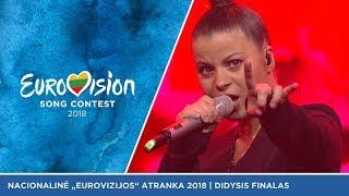 Fusedmarc - Rain Of Revolution  - Didysis Eurovizijos atrankų finalas 2018