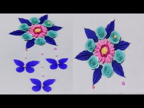 Download Diy Paper Butterfly Wall Hanging Diy Art And Craft