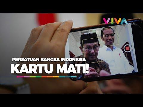 Jokowi Belum Bertemu Prabowo, BJ Habibie: Persatuan Kartu Mati
