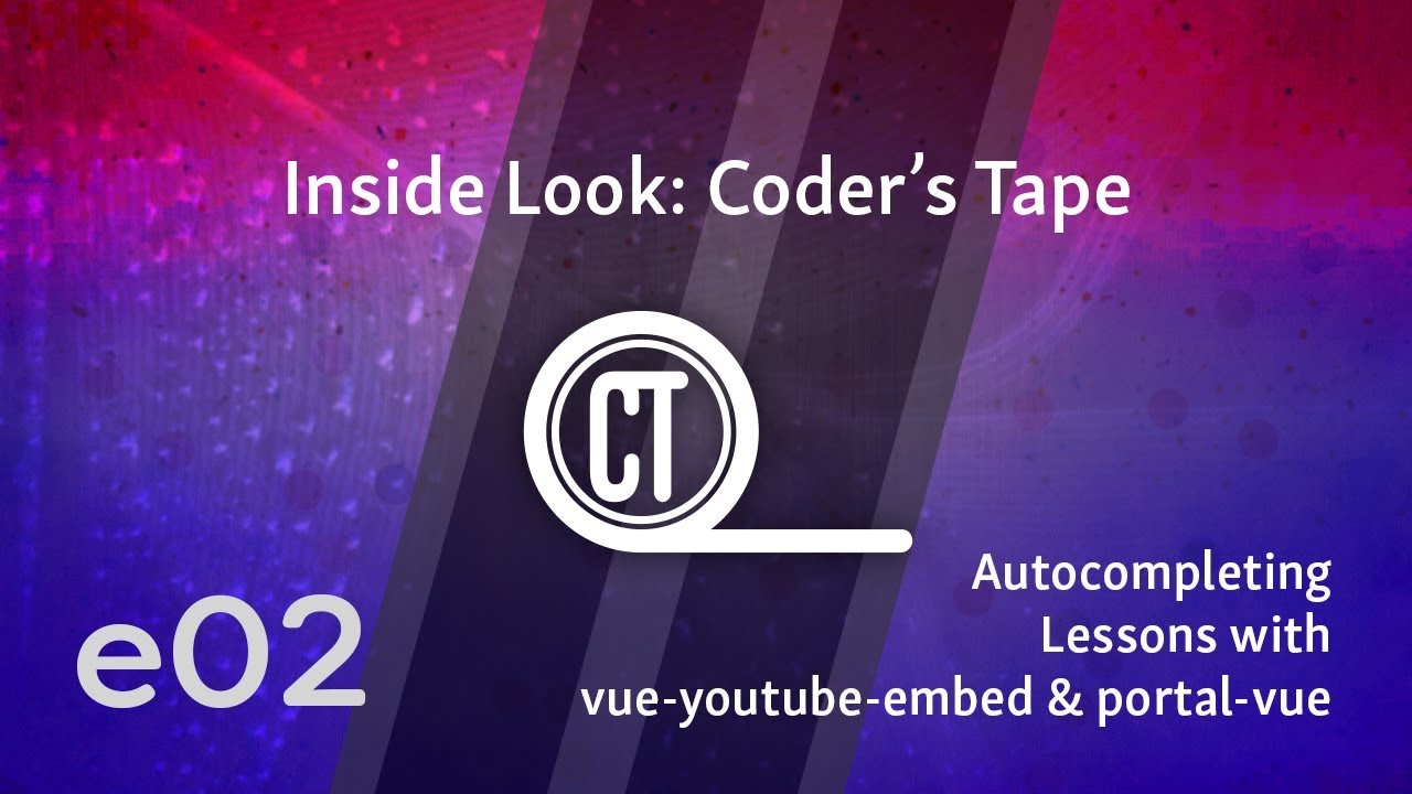 Cover image for the lesson by the title of Autocompleting Lessons with vue-youtube-embed & portal-vue