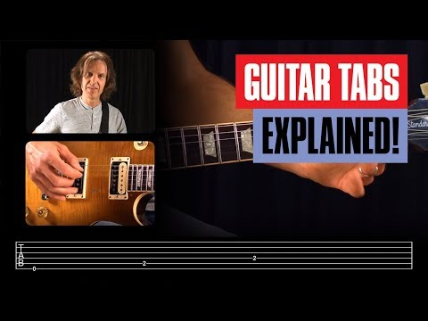 How to Read Guitar Tabs for Beginners Guitar Lesson | Guitar Tricks