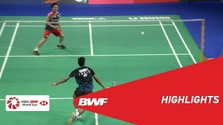 DANISA DENMARK OPEN 2018 | Badminton MS - SF - Highlights | BWF 2018