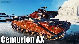 Centurion AX лучший дамагер недели 🌟 10500 dmg🌟 World of Tanks gameplay