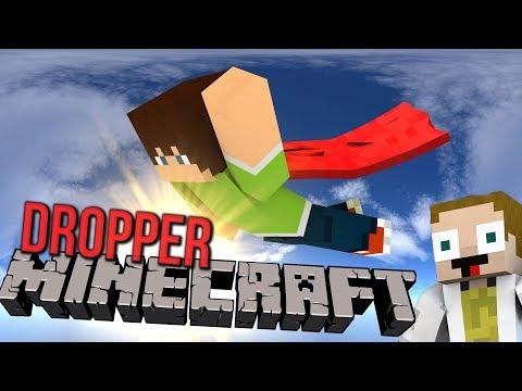 KDO JE LEPŠÍ JÁ NEBO GEJMR?   Minecraft Dropper