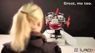 Robot Mirrors Our Emotions
