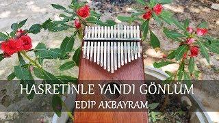 Edip Akbayram   Hasretinle Yandı Gönlüm | Kalimba Cover And Tabs