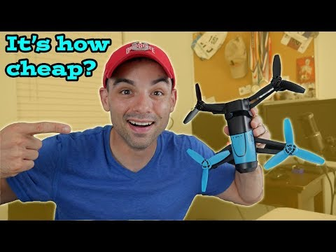 Is this the BEST cheap Beginner drone YOU can get?  $150 Parrot Bebop on Reviewing the Cheapest!