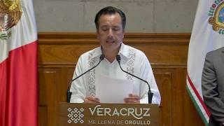 Presenta Gobernador Acuerdo por la Reactivación Económica en Veracruz