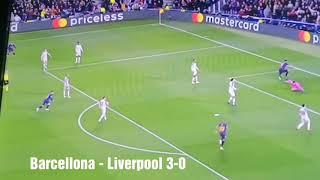 Barcellona-Liverpool 3-0 Sintesi