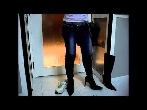 Prova Stivali alta moda