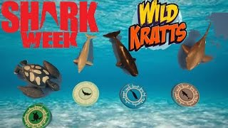 Shark Week!  Wild Kratts Swimmers Set and Underwater Adventure Set