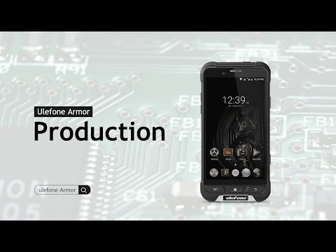 Meet IP68 Octa-core Ulefone Armor At Assembly Line