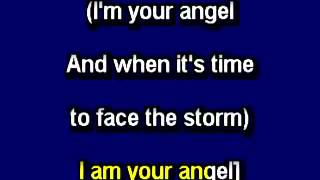 I'm Your Angel, in the style of Celine Dion & R Kelly, Karaoke Video with lyrics