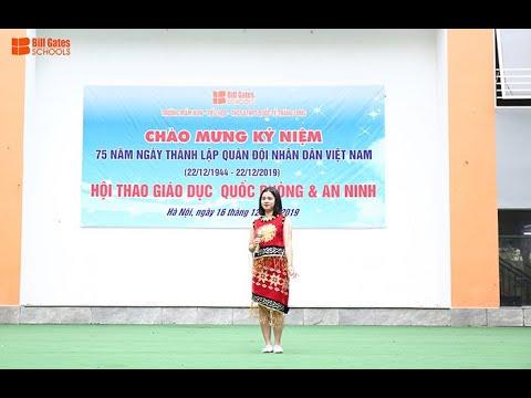 Kỷ niệm 75 năm thành lập QĐND Việt Nam - Bà hát Tiếng đàn Ta Lư - Cô giáo Huyền Trang, trường THCS&THPT Quốc tế Thăng Long biểu diễn