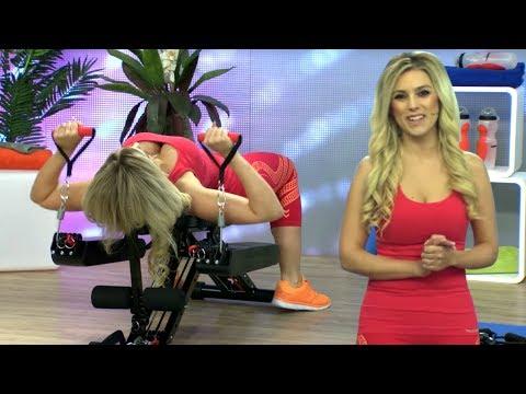 Trainieren mit Katie Steiner! Ganzkörper-Fitness-& Bauchtrainer im Test