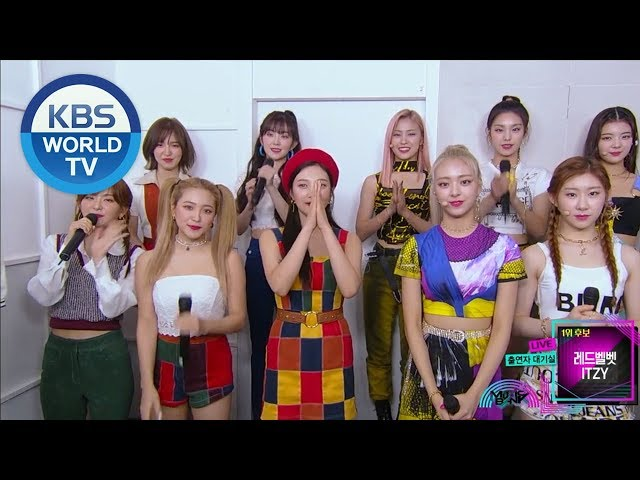 Interview With Red Velvet 레드벨벳 Itzy 있지 And Celeb Five 셀럽파이브 Music Bank Eng 2019 08 30