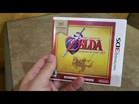 The Legend of Zelda: Ocarina of Time 3D (Nintendo Selects) - Unboxing!