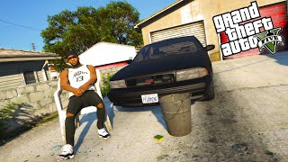 GTA 5 Real Hood Life #1 Setting Up Shop