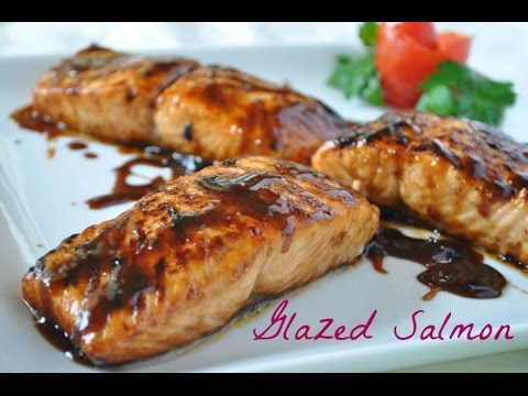 Video Easy Glazed Salmon Recipe with 4 Ingredients (Most popular healthy salmon recipe)