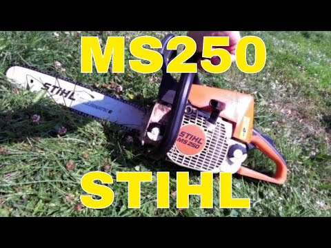 BEST INDEPTH Stihl MS250 Chainsaw Review – Great homestead chainsaw for firewood