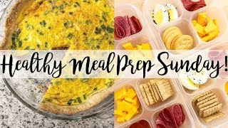 Sunday Meal Prep // Quiche, Beef Stew, Curried Couscous Salad, Instant Pot Chicken Stock