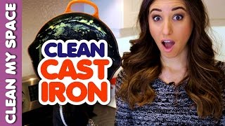 How to clean and care for cast iron cookware!