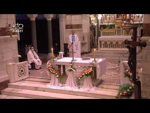 Laudes et Messe du 11 février 2021 à Notre-Dame de la Garde