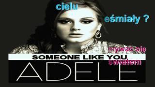 Adele   Someone Like You (Tłumaczenie)