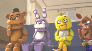 аниматроники учатся голден фредди учитель фнаф анимация  (довели учителя!)