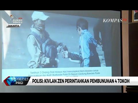 Polisi Ungkap Peran Kivlan Zen, dari Penentu Target Hingga Rencana Pembunuhan 4 Tokoh