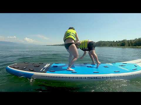 Les fribourgeois aiment le paddle