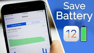 20+ Tips To Improve IOS 12 Battery Life!