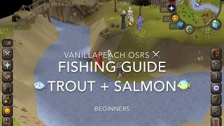 OSRS Fishing Guide How to Catch Trout and Salmon
