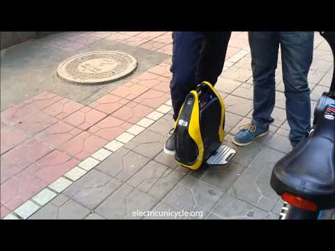 INMOTION V3 electric unicycle – First looks and mini review.