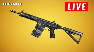 NEW GUN COMING TONIGHT UPDATE 12.50 + GIFTING SKINS (Fortnite Battle Royale LIVE)