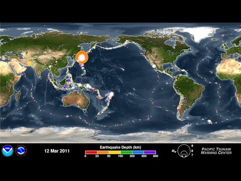 Relive 15 Years Of Earthquakes In Four Mesmerising Minutes