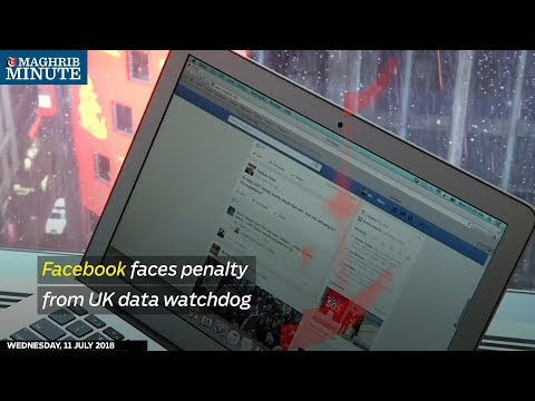 Facebook faces penalty from UK data watchdog