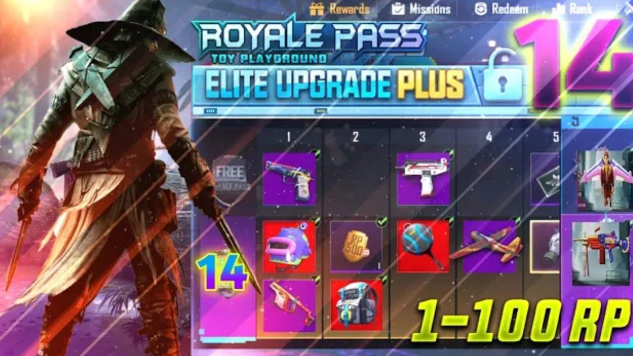 PUBG Mobile Season 14 Royal Pass Rewards