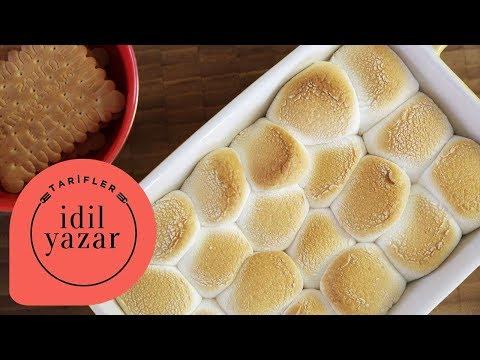 Marshmallow Tatlısı Nasıl Yapılır? (S'mores Dip) - İdil Tatari - Yemek Tarifleri